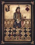 Harlequin Jack Art Print