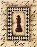 Chess King Art Print