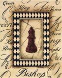 Chess Bishop Art Print