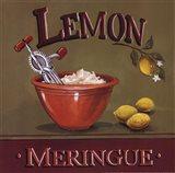 Lemon Meringue Art Print