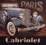 Paris Cabriolet Art Print
