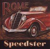Rome Speedster Art Print
