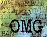 Text Logic II Art Print