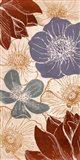 Vintage Flowers I Art Print