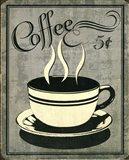 Retro Coffee I Art Print