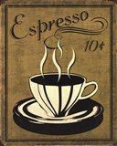 Retro Coffee II Art Print