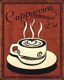 Retro Coffee III Art Print