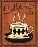 Retro Coffee IV Art Print