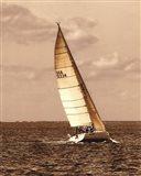 Weekend Sail II Art Print