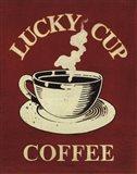 Lucky Cup Art Print