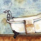 Relax Bath Art Print