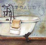 Soothing Bath Art Print