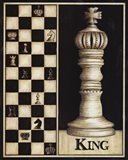 Classic King Art Print