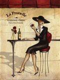 Femme Elegante IV - petite Art Print