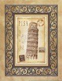 Pisa Postcard Art Print