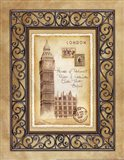 London Postcard Art Print