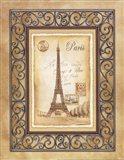 Paris Postcard Art Print