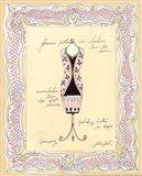 Dress Form III Art Print