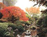 Japanese Garden I Art Print