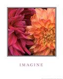 Imagine Flowers Art Print