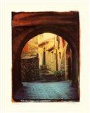 Italian Lane I Art Print