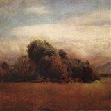 Autumn Horizon I Art Print