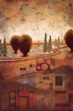 Quilted Landscape I Art Print