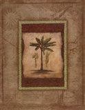 Palm Botanical Study I Art Print