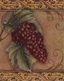 Grape Tapestry I - mini Art Print