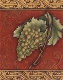 Grape Tapestry II - mini Art Print
