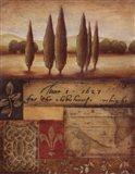 Renaissance Landscape I Art Print