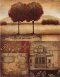 Renaissance Landscape II Art Print