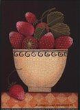 Cup O'Strawberries Art Print