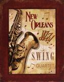 New Orleans Jazz II Art Print