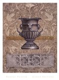 Gothic Quatrefoil 1 Art Print