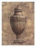 Classical Urn Series #1-B Art Print
