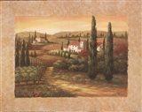Tuscan Sunset II Art Print