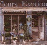 Fleurs Exotique Art Print