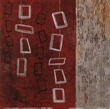 Dangling Geometric II Art Print