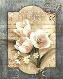 Marche Aux Fleurs Art Print