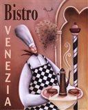 Bistro Venezia Art Print