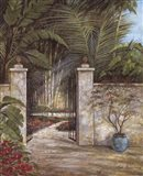 Tranquil Garden I Art Print