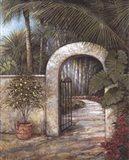 Tranquil Garden II Art Print