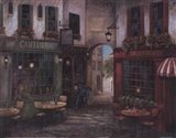 Courtyard Ambiance Art Print