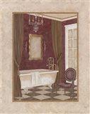 Luxury Bath II Art Print