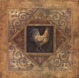 Classic Rooster I Art Print
