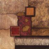 Autumn Gingko I Art Print