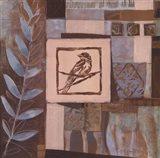 Veranda Blue Migration II Art Print