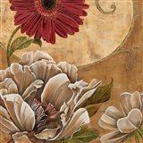 Floral Aura I Art Print