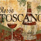 Rosso Toscano Art Print